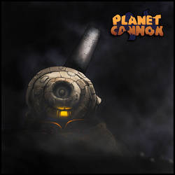 Planet Cannon title by ink532