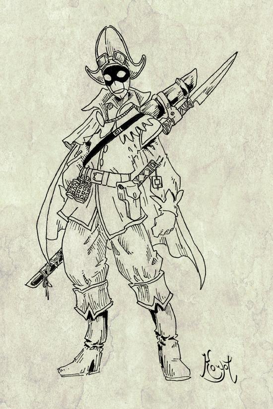 Antagonists (III): the Harlequinoid by koyotenahual