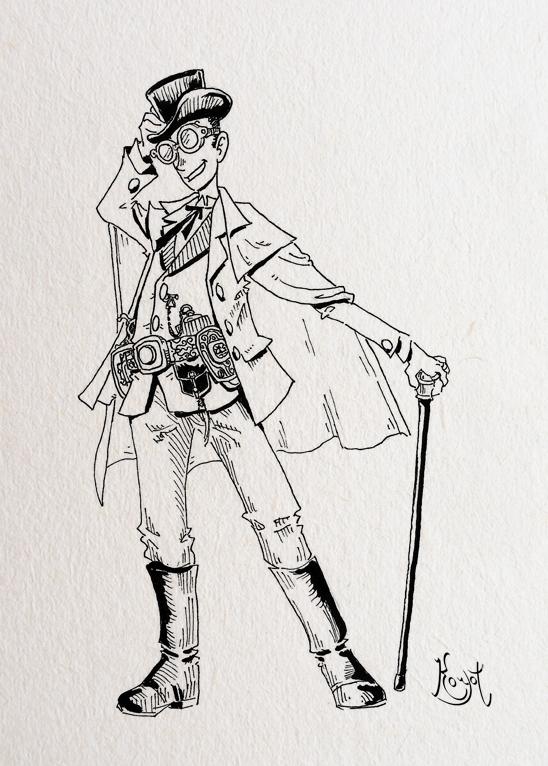 Antagonists (IV): The Gentleman Thief by koyotenahual