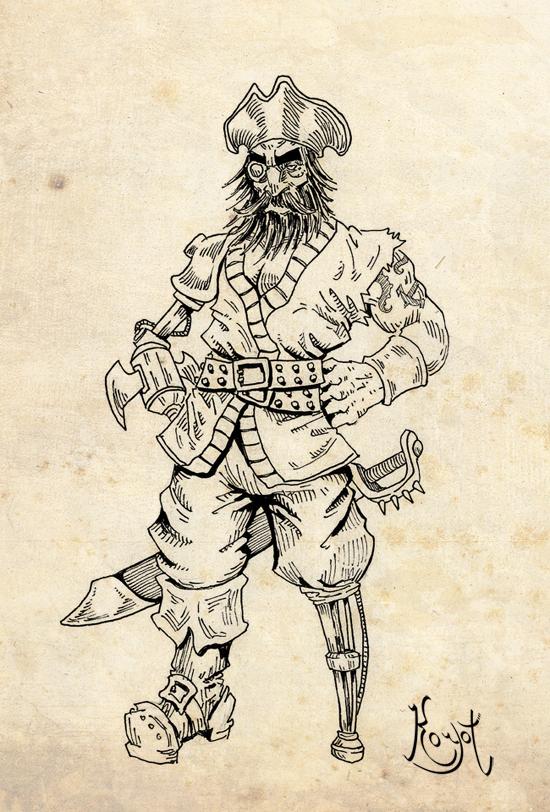 Antagonists (V): Spike Beard by koyotenahual