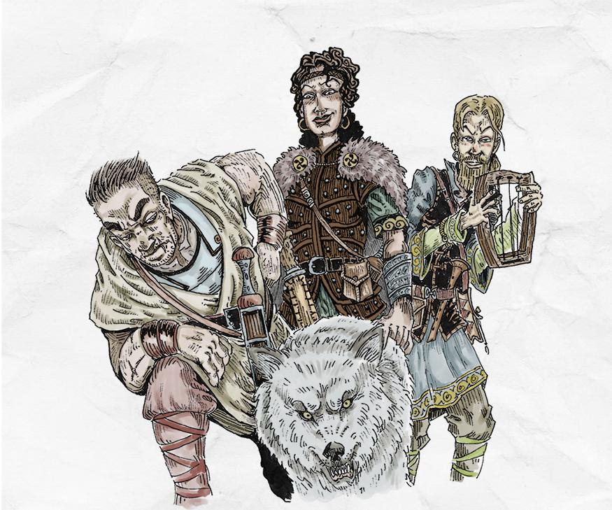 Corvinus Mercs by koyotenahual