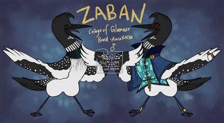 [ref] zaban the loon