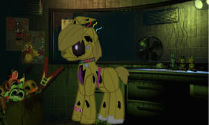 Springtrap Pony by buttons-the-bunny