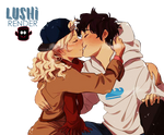 Percabeth - Winter Kiss