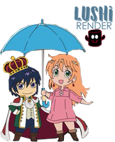 Nike and Livius  - Chibi