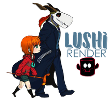 Chise and Elias - Chibi by Lushi08