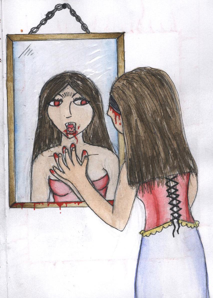 Mirror Reflection by sharkna on DeviantArt