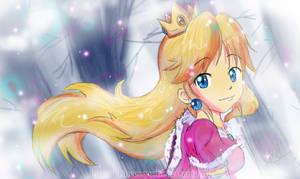 WInter princess peach