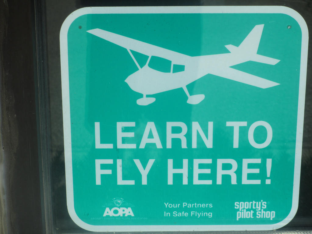 Learn to fly here by boeingboeing2 on deviantart