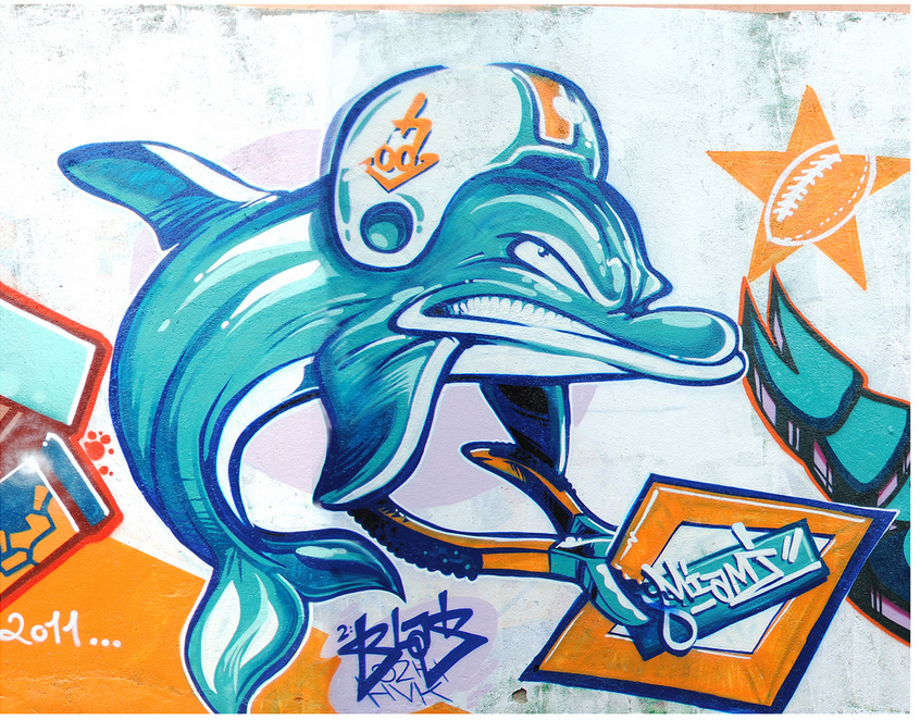Miami dolphins graffiti i made with a friend by boeingboeing2 on miami dolphins graffiti i made with a friend by boeingboeing2 voltagebd Choice Image