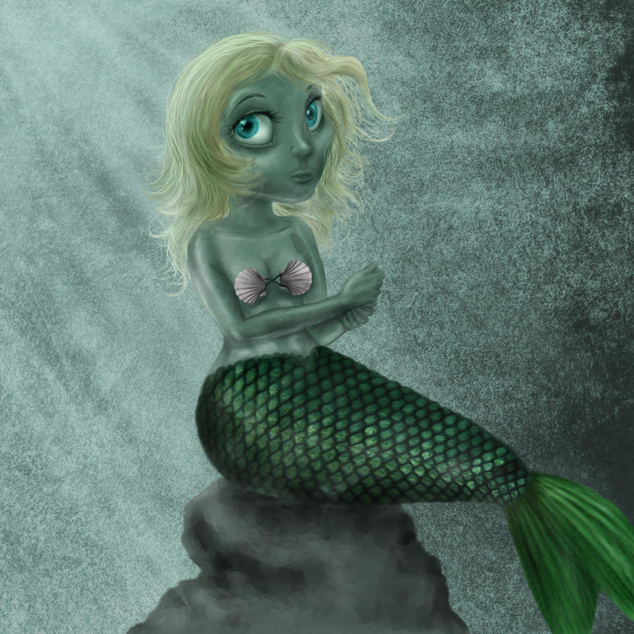 Fishgirl by pickledshoe