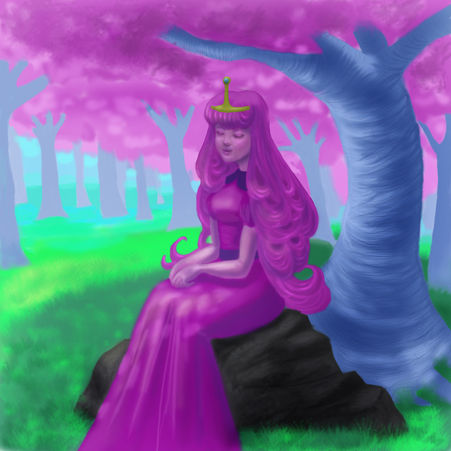 Princess in the candy kingdom by pickledshoe