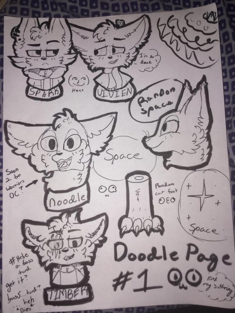 Doodle Page #1 by DoodleKitten05