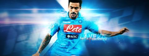 Ezequiel Lavezzi - Ssc Napoli by blackfence