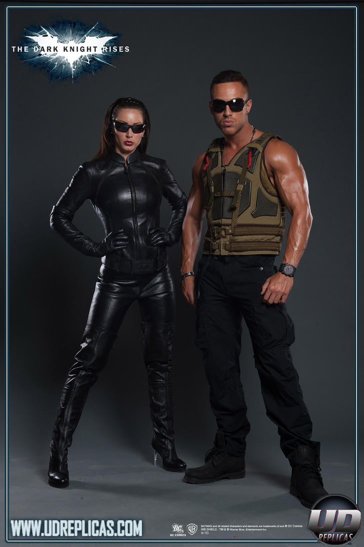 Bane and Catwoman The Dark Knight Rises Batman by ...