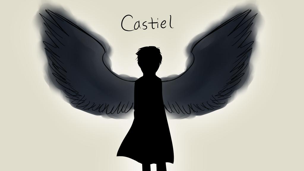 Castiel (sketch) by EvilsNightmare