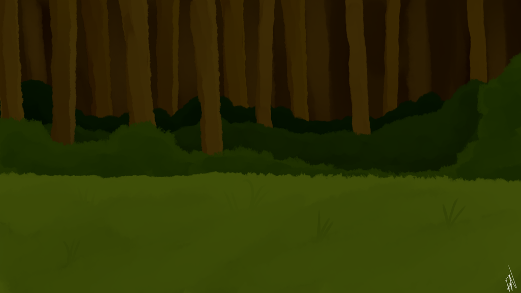 Forest Background for WW by EvilsNightmare