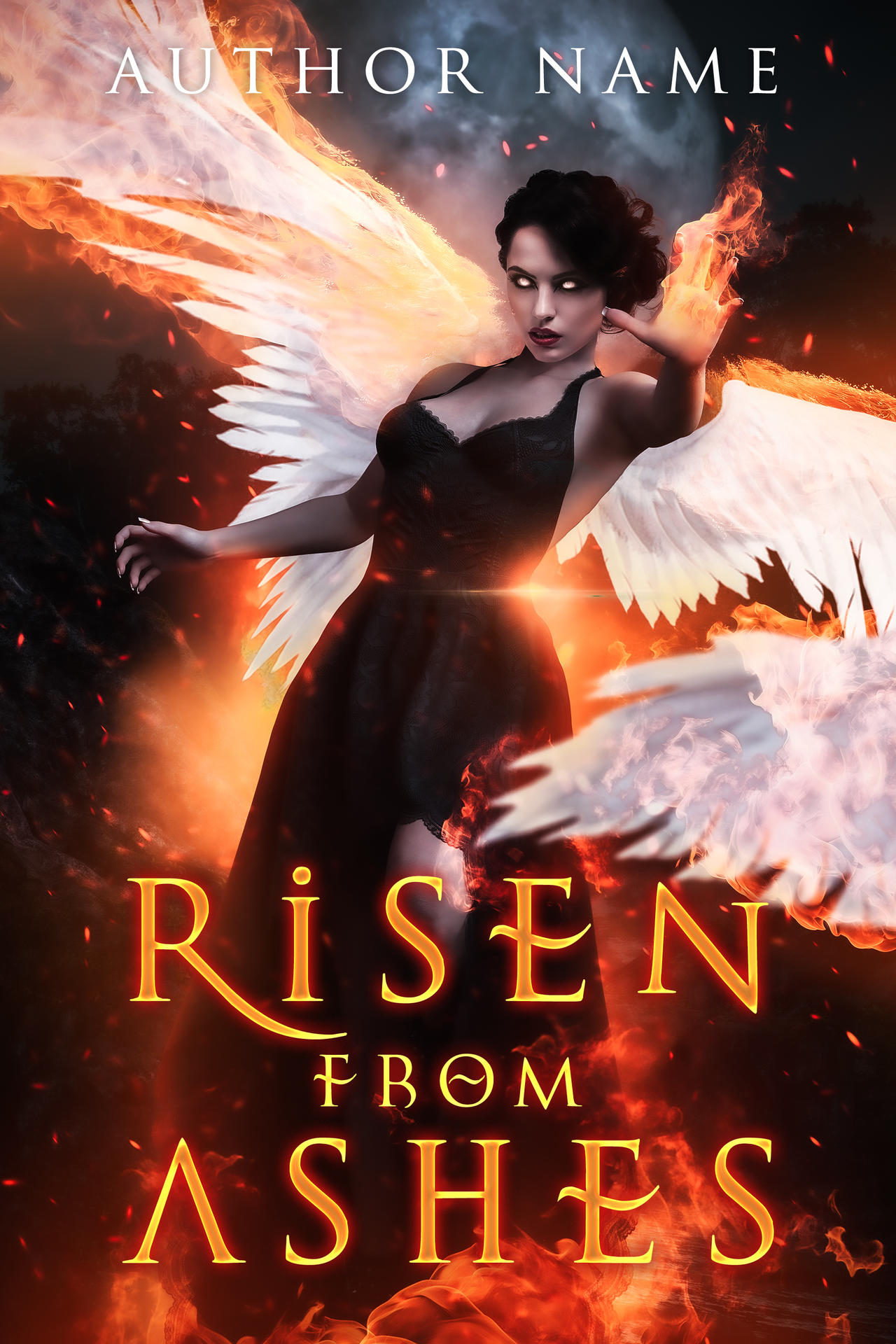 Risen from Ashes (Book Cover)