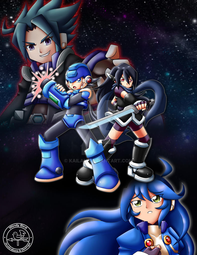 Commission- Megaman Neo Fanfiction by kailali