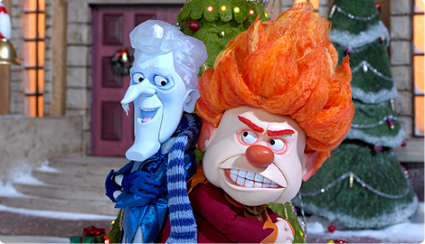 Snow Miser And Heat Miser by CaresseChris on DeviantArt