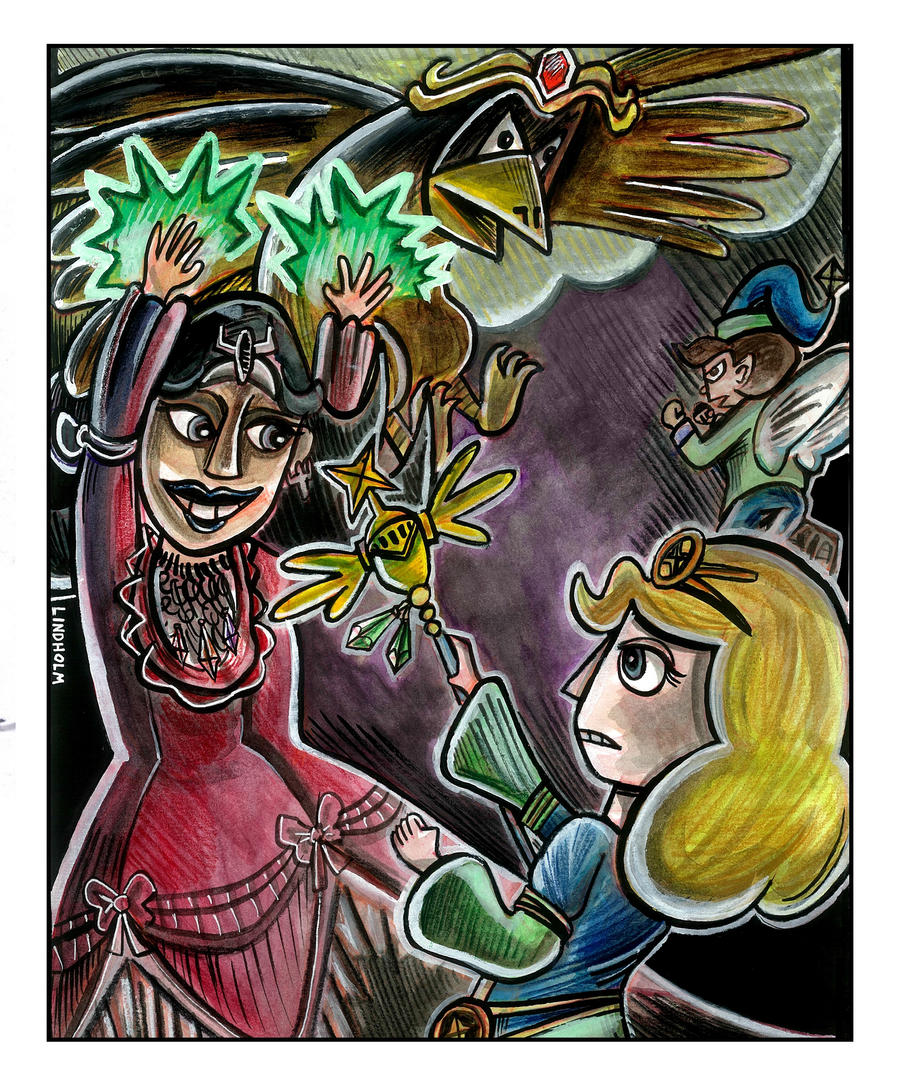 Crystal Knights fanart by trivialtales