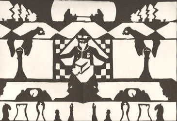 My Chess Silhouette Project by NathanBotsford