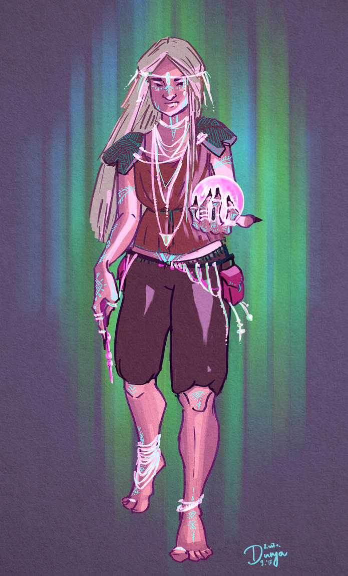 Spellcaster by 237Q-Dunja