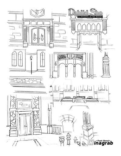 some arcs and columns by Zazawa