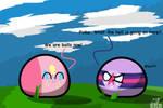 TwiBall and PinkeBall by TemerDzafarowo
