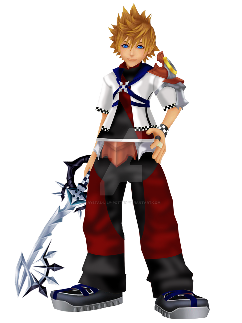 Roxas by krystal lily potter on deviantart - Kingdom hearts roxas images ...