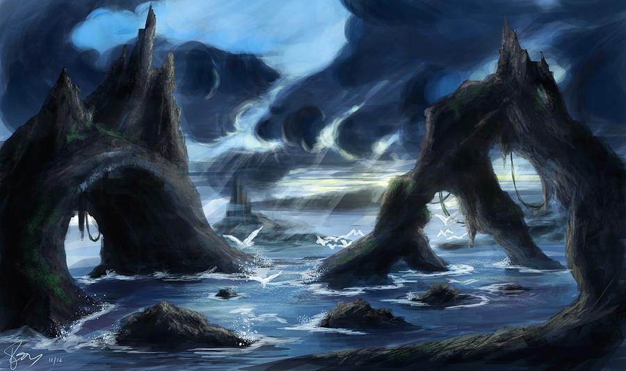 Coast by Reizaku