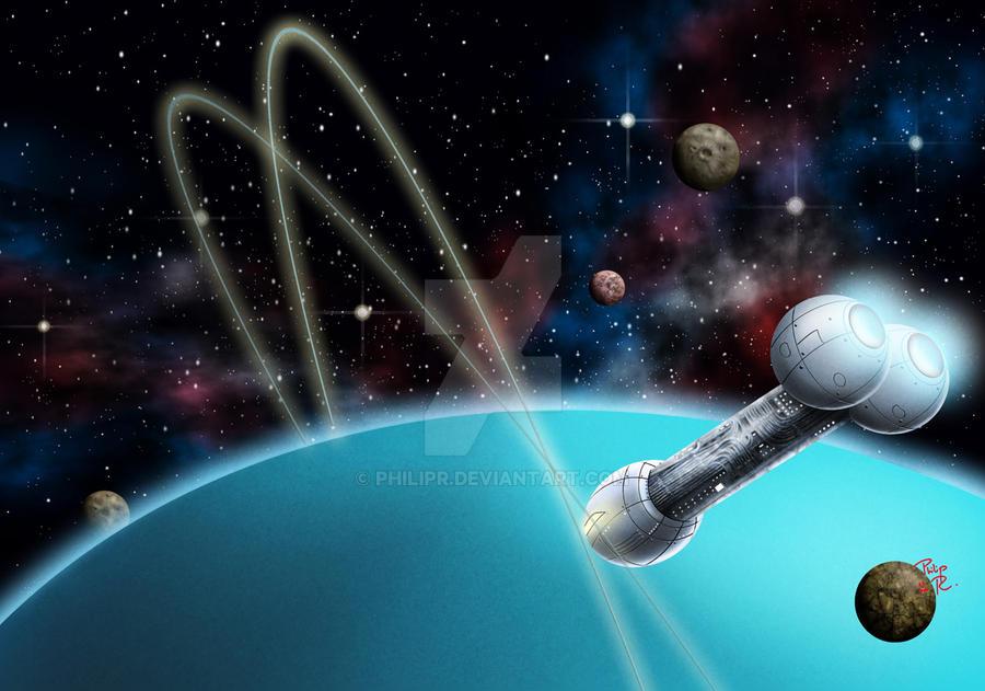 Probing Uranus by PhilipR on DeviantArt