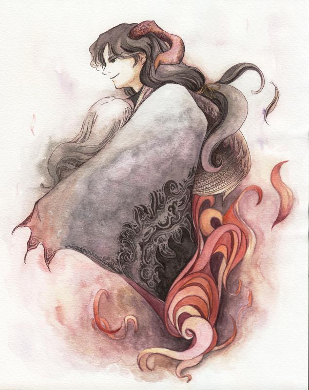Demon by iwabon