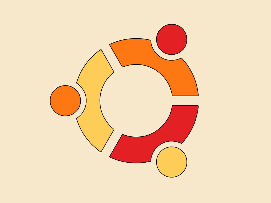 Ubuntu logo by 5t3f4n