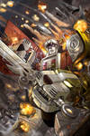 Voltron Cover issue no 2