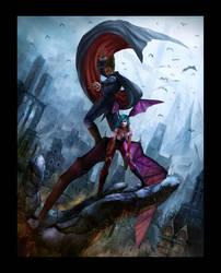 Darkstalker-Forbiden City by masterchomic