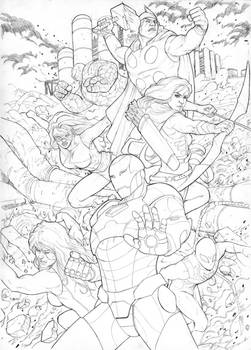 Marvel Cover Sample
