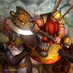 King Alrik by masterchomic