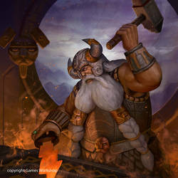 Thorek Ironbrow by masterchomic