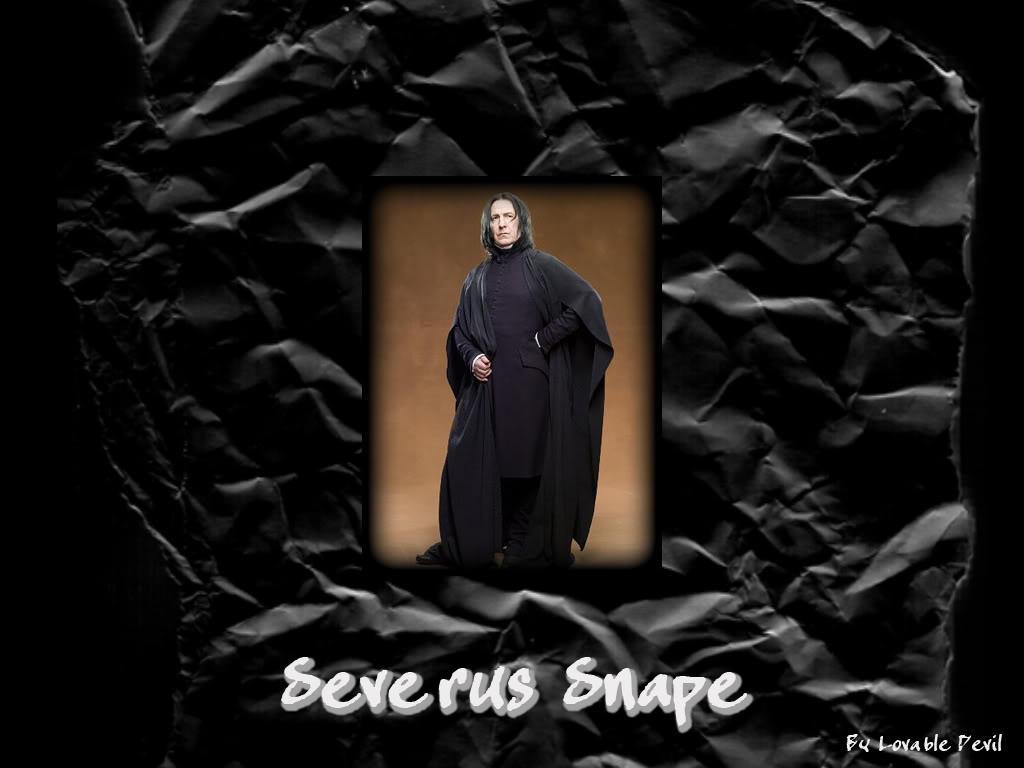 Severus Snape Wallpaper By Schniefelus On Deviantart