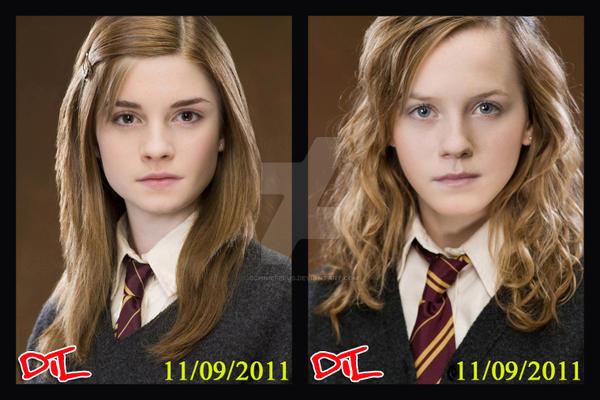 Ginny Weasley And Hermione Granger Ginny Weasley Hermione Granger