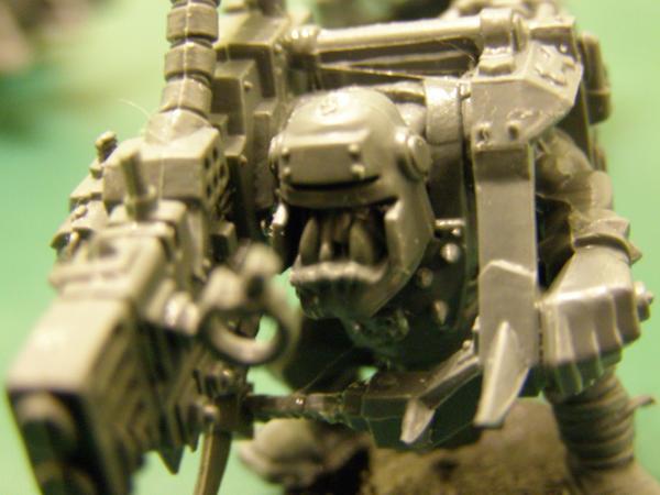 Ork with Kustom Mega-Blasta by Warhammer-Fanatic on DeviantArt
