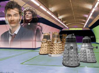 Doctor Who: Ex-Terminus (Original Fan Art) by Warhammer-Fanatic