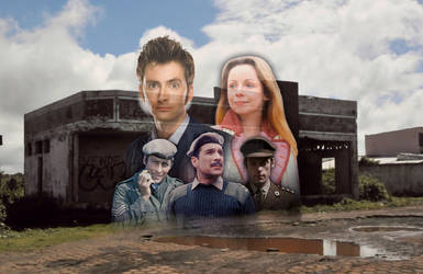 Doctor Who: Ghost Town (Original Fan Art) by Warhammer-Fanatic