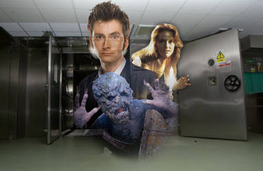 Doctor Who: First Abomination (Original Fan Art) by Warhammer-Fanatic