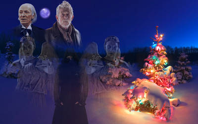 Doctor Who: Christmas Angels (Fan Made Art) by Warhammer-Fanatic