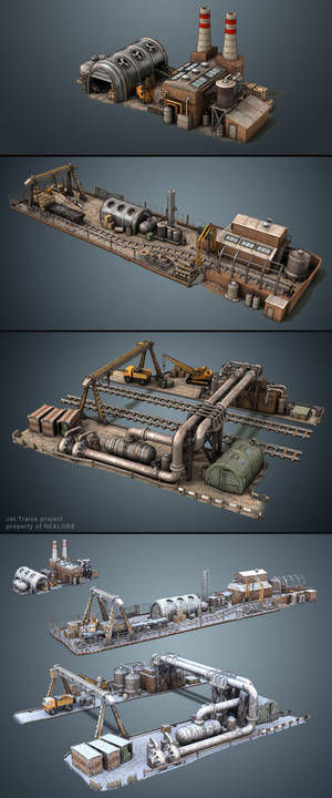 Factories (game asset)