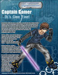 Captain Gamer Bio II info size