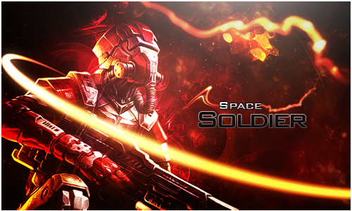 Space Soldier by Baderas