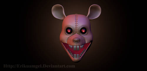 = C4d = Rat Model ( Wip ) - FnaC 3- by Erikuamgel